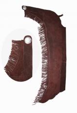 braune westernchaps showchaps aus leder g nstig im. Black Bedroom Furniture Sets. Home Design Ideas