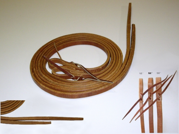 Premium Harness Zügel 1/2 ca. 12mm breit