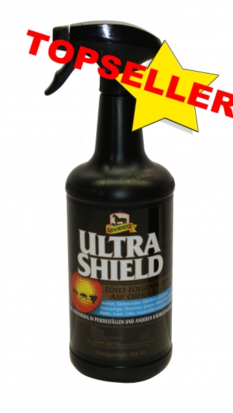 (33,72 EUR / L)Absorbine Ultrashield Black Fliegenspray 946ml