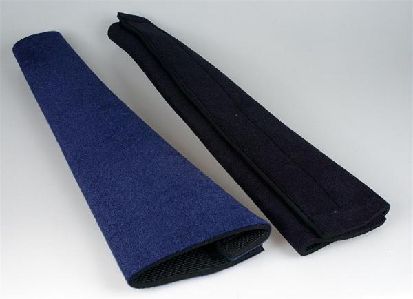 Tail Wrap Schweifschutz aus Neopren schwarz