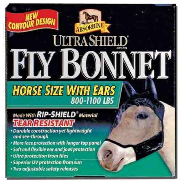 Absorbine Fliegenmaske Fly Bonnet Ultrashield