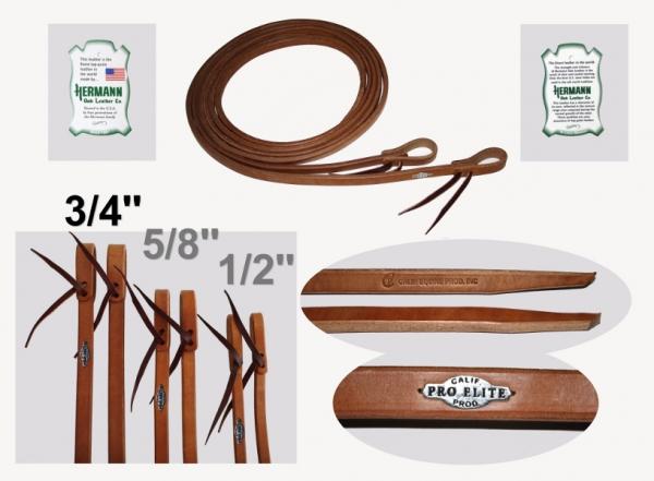 California Pro Elite Series Premium Harness Zügel 19mm