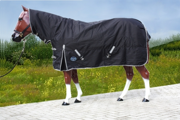 Tough Horse Turnout Winterdecke 300g mit Halsteil 1200D