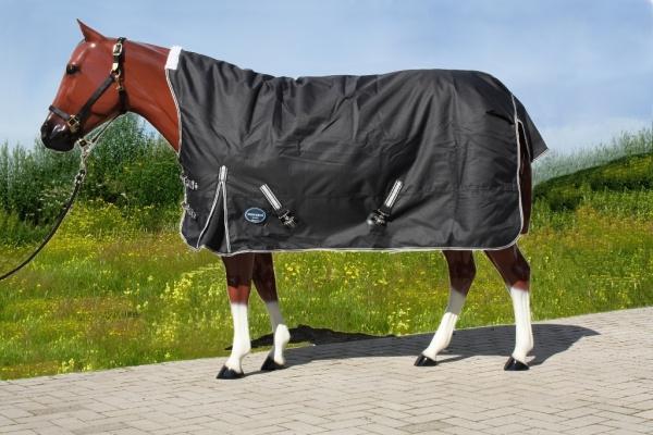 Tough Horse Turnout Winterdecke 300g mit Halfneck 1200D