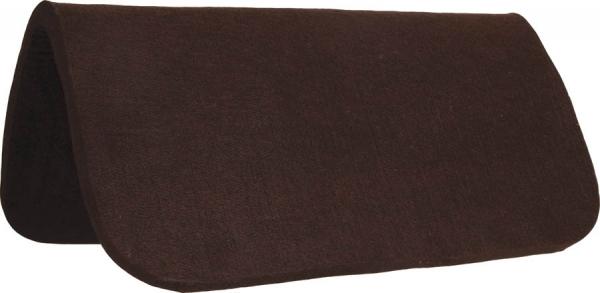 Mustang Filzunterlage für Westernpad Padschoner braun/chocolate