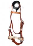 Sidepull Harnessleder Double Rope Noseband