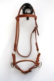 Sidepull Harnessleder Single Leather Noseband