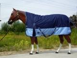 Winterdecke Turnout Topscore  Halfneck blau 135cm
