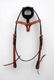 EE Tack Ambrind Kopfstück mit Futurity-Stirnband