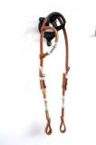 EE Tack Einohrkopfstück aus Herman Oak Leather