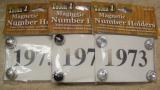 Magnet Starnummern Pin