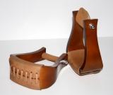 Deluxe Hardwood Bell Holz-Steigbügel