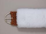 Fleece Sattelgurt Überzug