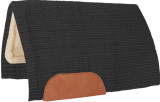 Mustang Solid Navajo Wool Westernpad schwarz
