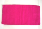 Showblanket aus Wolle in Pink 92 x 86cm