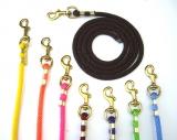 Führstrick Polyester mit Karabiner in verschiedenen Farben