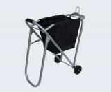 Sattelcaddy aus Stahlrohr mit abnehmbarer Tasche