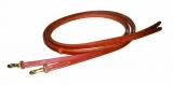 BCL Herman Oak Leather Reins Westernzügel mit Snap Ends 16mm x 240cm