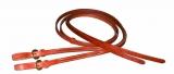 BCL Herman Oak Leather Reins Westernzügel mit Buckle Ends 16mm x 240cm