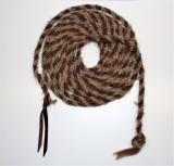 Horse Hair Mecate Two Tone aus Pferdehaar geflochten 670cm lang
