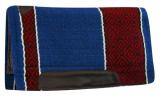 Western Show Pad Diamond Design #6207 Blue-Red