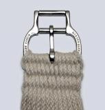 Weaver Mohair Sattelgurt mit Smart Chinch System 27 Strand