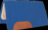 Mustang Solid Navajo Wool Westernpad blau