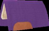 Mustang Solid Navajo Wool Westernpad lila