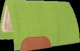 Mustang Solid Navajo Wool Westernpad hellgrün