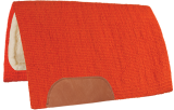 Mustang Solid Navajo Wool Pad orange