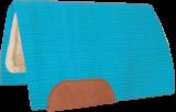 Mustang Solid Navajo Wool Westernpad hellblau