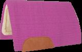 Mustang Solid Navajo Wool Westernpad pink