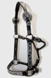 EE TACK Western Show Halfter mit Silber Größe COB