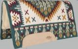 Mustang Reinmaker Wool Fleece Show Westernpad 1238-EG