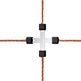 Litzclip Litzen-Kreuzverbinder 3mm, verzinkt, 5 Stück