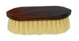 Mähnen- und Waschbürste, lang, braun maseriert