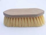 Mähnen- und Waschbürste, lang, Rohholz