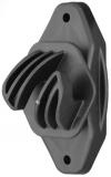 Seilisolator 8mm schwarz